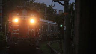【JR紀勢本線】上島踏切 甲種輸送(DD51-1193+南海8300):和歌山市行 通過