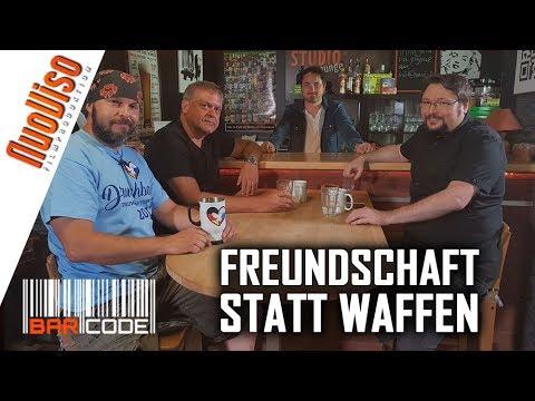 Freundschaft statt Waffen - #BarCode mit Dirk Pohlmann, Owe Schattauer, Norbert Fleischer