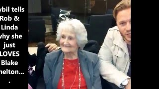 89 year old sybil meets blake shelton bucketlist dreamcometrue