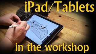 ipad tablets in the workshop gamechanger