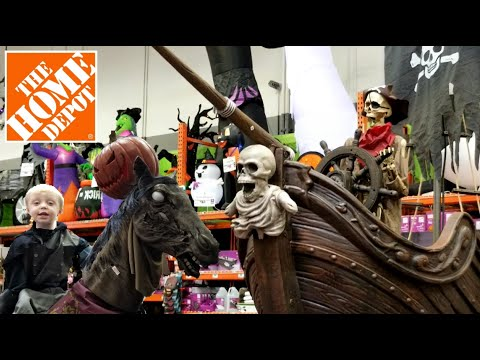 Halloween Decorations At The Home Depot | Outdoor & Indoor Halloween Home Decor | Halloween 2019