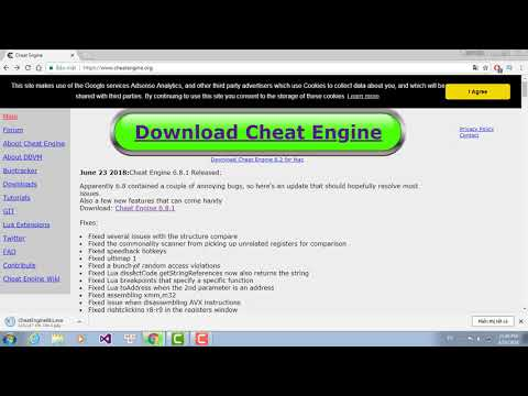 Download Cheat Engine 6.8.1 | How To Use The Cheat Engine 6.8.1