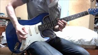 【TAB譜あり】ワンピースメドレーを弾いてみた ONE PIECE GUITAR MEDLEY nuno548