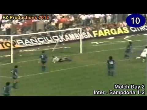 Roberto Mancini - 156 goals in Serie A (part 1/5): 1-30 (Bologna and Sampdoria 1981-1986)