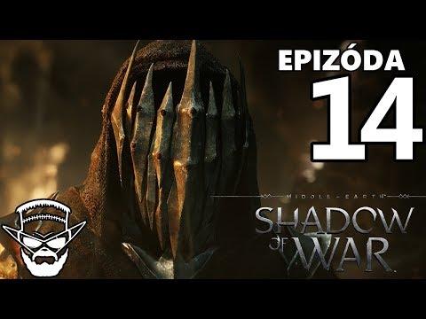 NAJSILNEJŠÍ NAZGUL ? - Middle Earth : Shadow of War / 1080p 60fps / Cz/Sk Lets Play / # 14