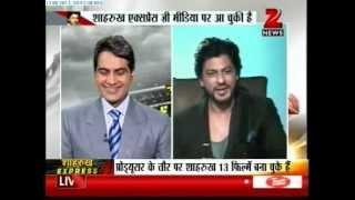 Zee News : Shahrukh Khan's Chennai Express LIVE & EXCLUSIVE