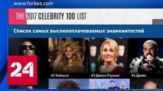 Forbes: рэпер Пафф Дэдди возглавил список самых богатых знаменитостей