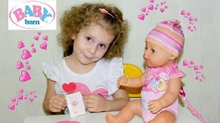 Розпакування ляльки Бебі Борн BABY BORN/Doll Baby Born Review Unboxing Dolls Toys