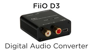 10 Minute Teardowns: What's inside of the FiiO D3 192kHz/24bit Optical and Coaxial DAC?