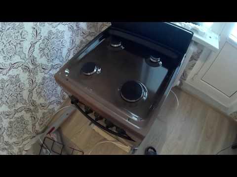 Установка газовой варочной панели Candy clg64px | как установить .