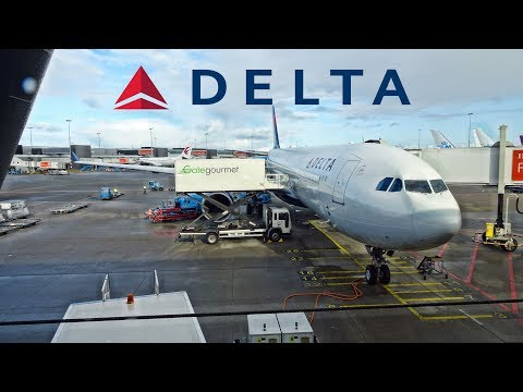PAINFUL DELAY ON DELTA ONE | SEATTLE-AMSTERDAM | AIRBUS A330