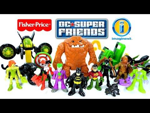 Imaginext® Batman & Robin Vs Villains Of Gotham DC Super Friends Fisher-Price® Set 2