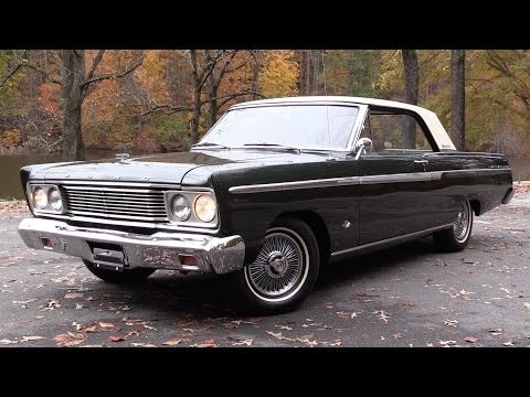 1965 Ford Fairlane 500 Sports Coupe (289 V8) Start Up, Road Test, and In Depth Review