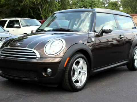 2009 Mini Cooper Clubman Automatic Chocolate On Brown Nice