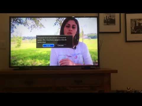 Como sintonizar TV digital Samsung a pegar novos canais digitais