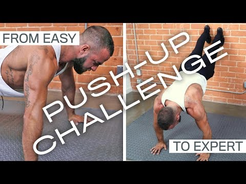 My 7 Favorite Push-Up Variations and also the NF Push-Up Challenge