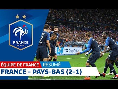 Équipe de France, France-Pays-Bas (2-1), le résumé I 2018