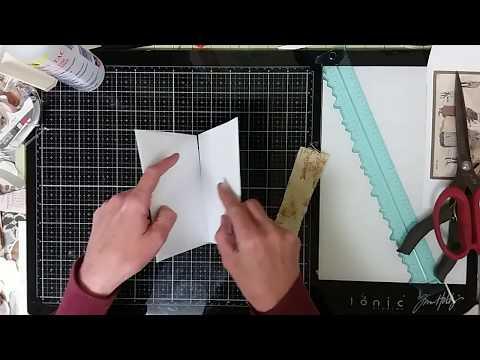 Envelope Junk Journal Pages - Easy DIY