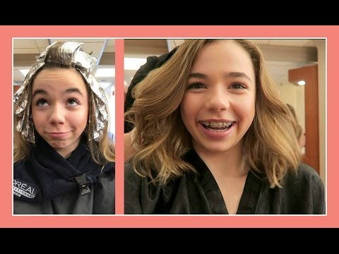 KATIE GETS A HAIR MAKEOVER | 1ST SALON VISIT | Flippin' Katie