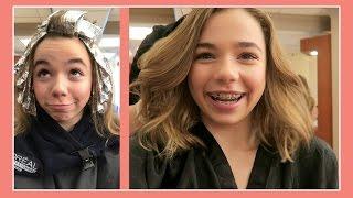 KATIE GETS A HAIR MAKEOVER | 1ST SALON VISIT | Flippin' Katie