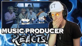 Music Producer Reacts to BTS - FIRE!!!!