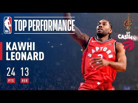 Kawhi Leonard Season Debut With Toronto Raptors | October 17, 2018