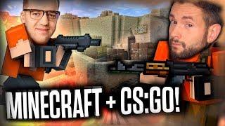 MINECRAFT + CS:GO? Blockpost z Leszkiem