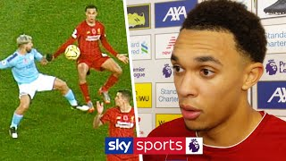 Trent Alexander-Arnold shares his opinion on controversial handball appeal | Post Match