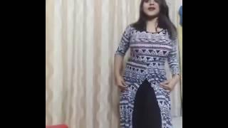 Desi dance by a cute girl