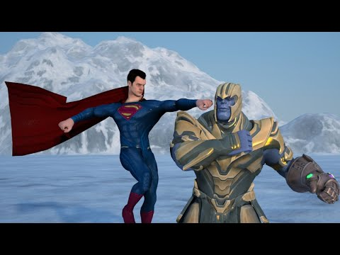Superman vs Thanos | Death Battle Part 1 | Epic Animation