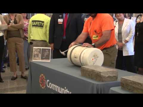 Time Capsule Opening 1955 & 1991 Community Hospital East