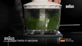 Насадка измельчитель Braun MQ 30 - видео обзор