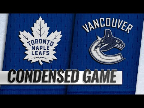 03/06/19 Condensed Game: Maple Leafs @ Canucks