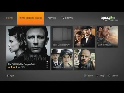 PlayStation 3 Amazon Instant Video Overview