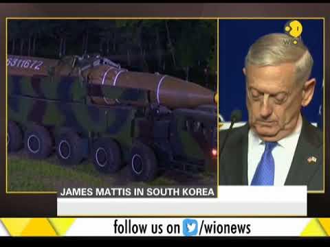 United States Secretary of Defense James Mattis in South Korea