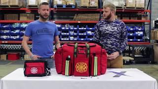 Lightning X Warehouse Series Episode #9 - LXFB20 Shift Firefighter Gear Bag Package