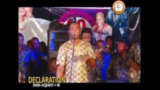 WASIU ALABI PASUMA IN DECLARATOIN BABA AGBAKO @90