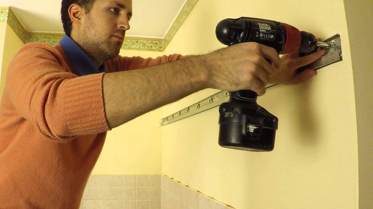 Binario Pensili Cucina Ikea cucina montaggio installazione tutorial parte 2 guida completa