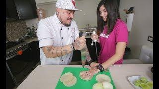 Cocinando con el Muerto Ep3.- Feerchaa Pacheco - Enchiladas De Mole