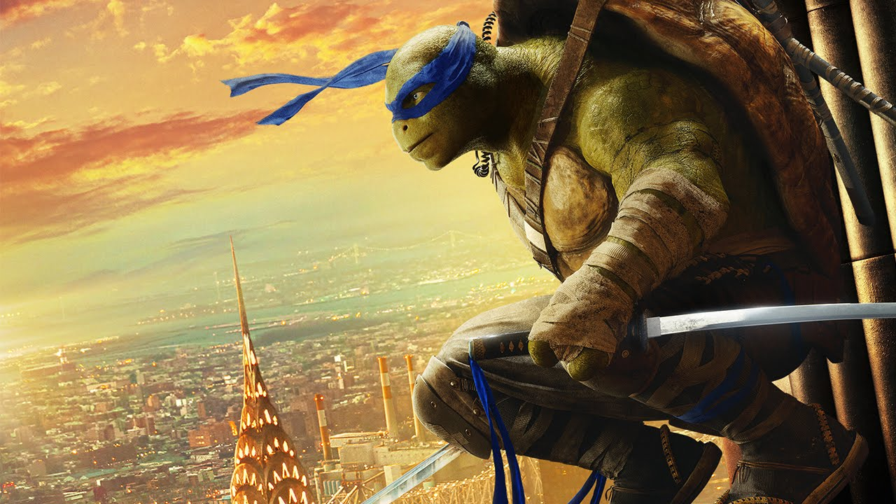 Ninja Turtles: Out of the Shadows | Leonardo Cinemagraph | UPInl
