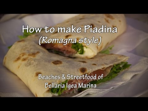 How to make the perfect PIADINA, Romagna style (with Nonna Violante ...