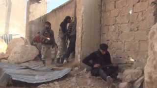 Heavy Firefight And Clashes Between Al Qaeda And Syrian Rebels Plus Syrian Army