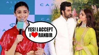 Alia Bhatt FINALLY ACCEPTS She LOVES Ranbir Kapoor   New Bollywood Couple