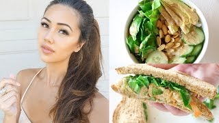 One of Lisa Lorles's most viewed videos: What I Eat On A School Day // Healthy Vegan Recipes (Plant-Based) (#2)