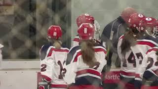 Conard-Hall vs. Simsbury Girls Hockey - February 20, 2021