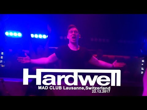 HARDWELL Baby! @MAD Club Lausanne,Switzerland 22.12.2017