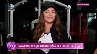 Teo Show (06.01.2020) - Oana Radu iubeste din nou! Catalin, iubitul ei a cucerit-o la sala!