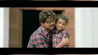 Eena meena Teeka song | Theri | Whatsapp status | father loves daughter song| Theri Baby girl song |
