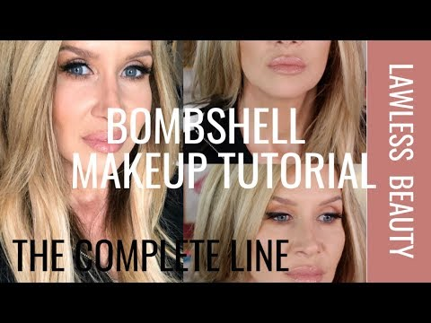 Bombshell Makeup Tutorial | Lawless Beauty | Complete Line