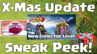 Clash Of Clans NEW LEVEL 12 GOLD MINES ELIXIR COLLECTORS | NEW Christmas Update 2014 Sneak Peek #2
